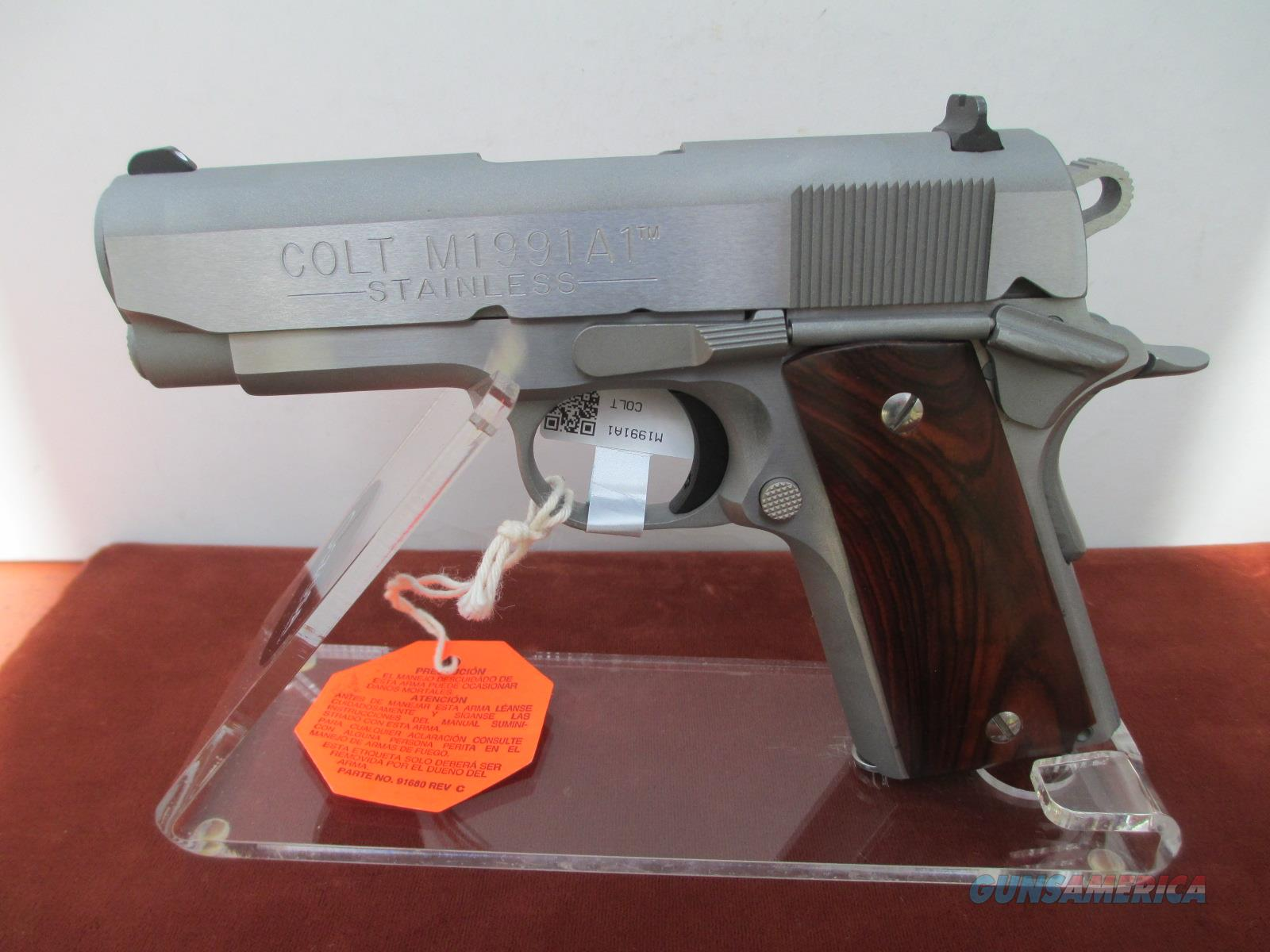 COLT OFFICERS ACP MODEL - THE LAST TWO TO LEAVE THE FACTORY  Guns > Pistols > Colt Automatic Pistols (1911 & Var)