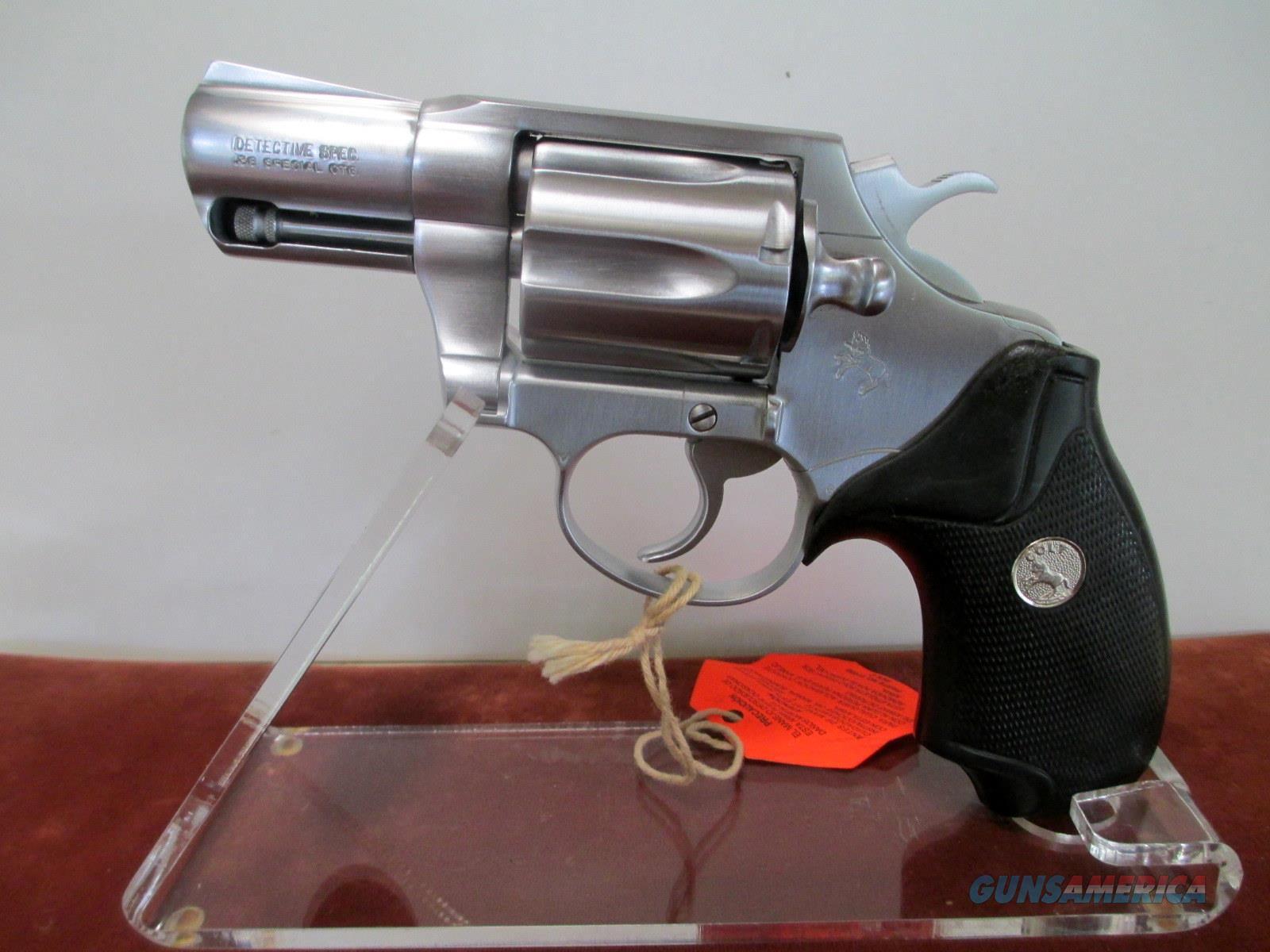 COLT CUSTOM SHOP HARD CHROME DETECTIVE SPECIAL  Guns > Pistols > Colt Double Action Revolvers- Modern