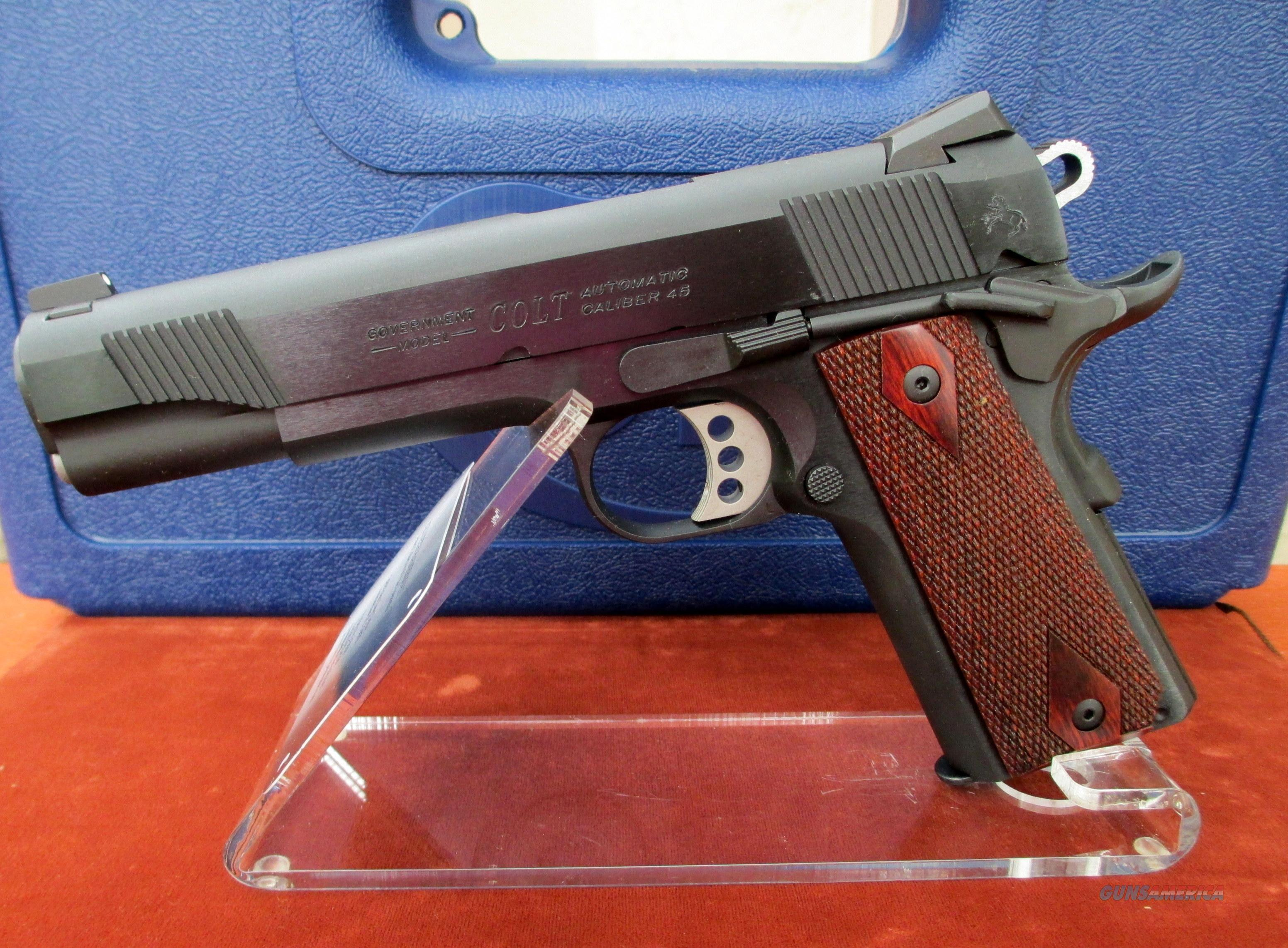 COLT BLUE O1980XSE 1911 GOVERNMENT MODEL DISCONTINUED MODEL  Guns > Pistols > Colt Automatic Pistols (1911 & Var)