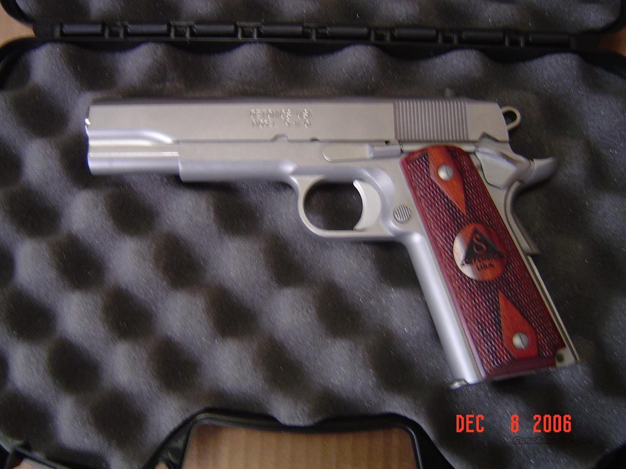 DETONICS 9-11-01 FULL SIZE 45  Guns > Pistols > 1911 Pistol Copies (non-Colt)