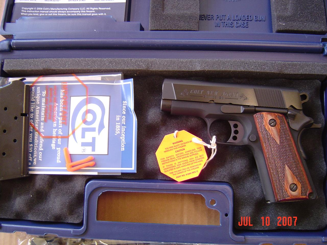 COLT CONCEALED CARRY/NEW AGENT  Guns > Pistols > Colt Automatic Pistols (1911 & Var)