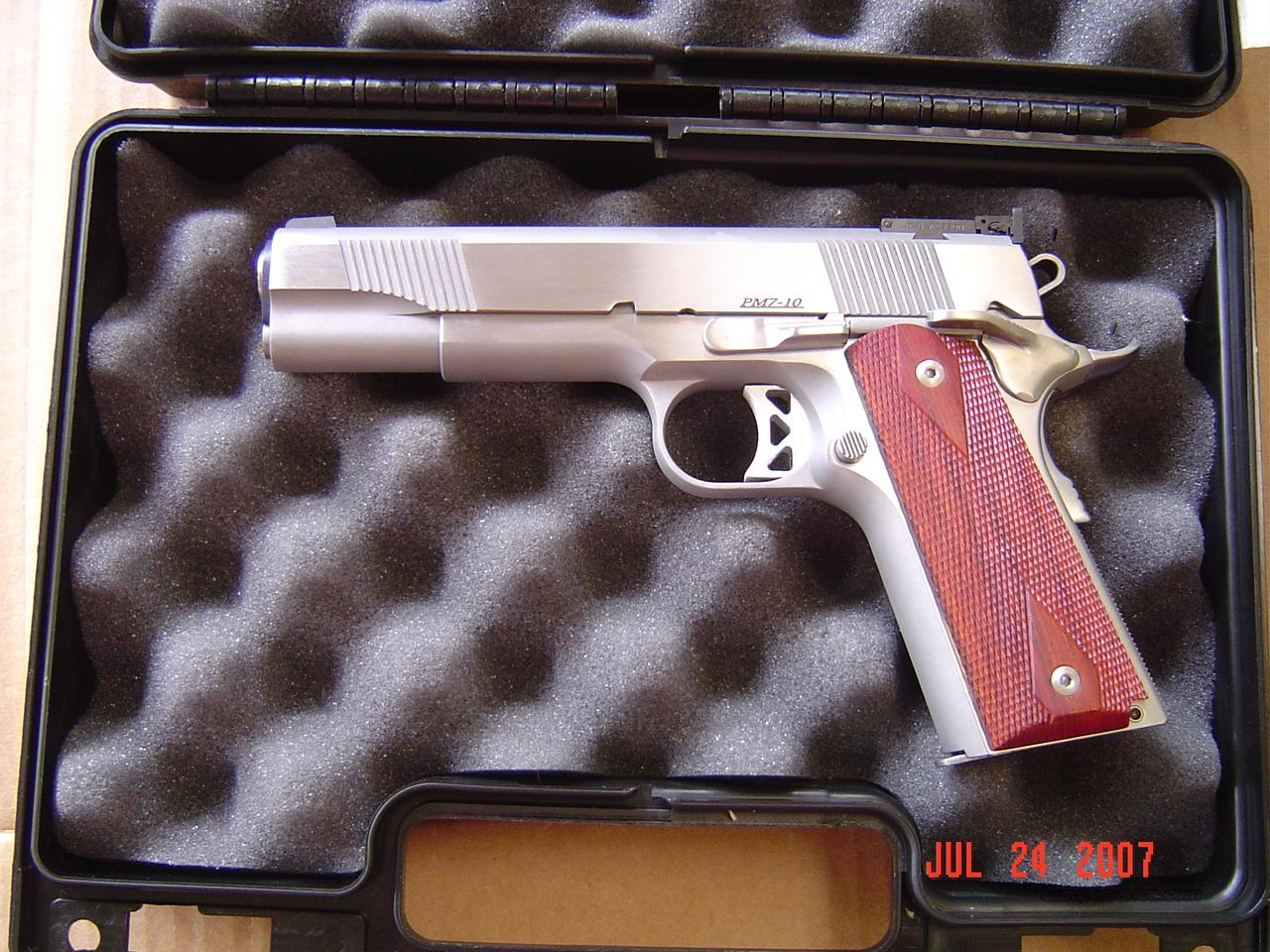DAN WESSON PM7 IN 10MM  Guns > Pistols > 1911 Pistol Copies (non-Colt)