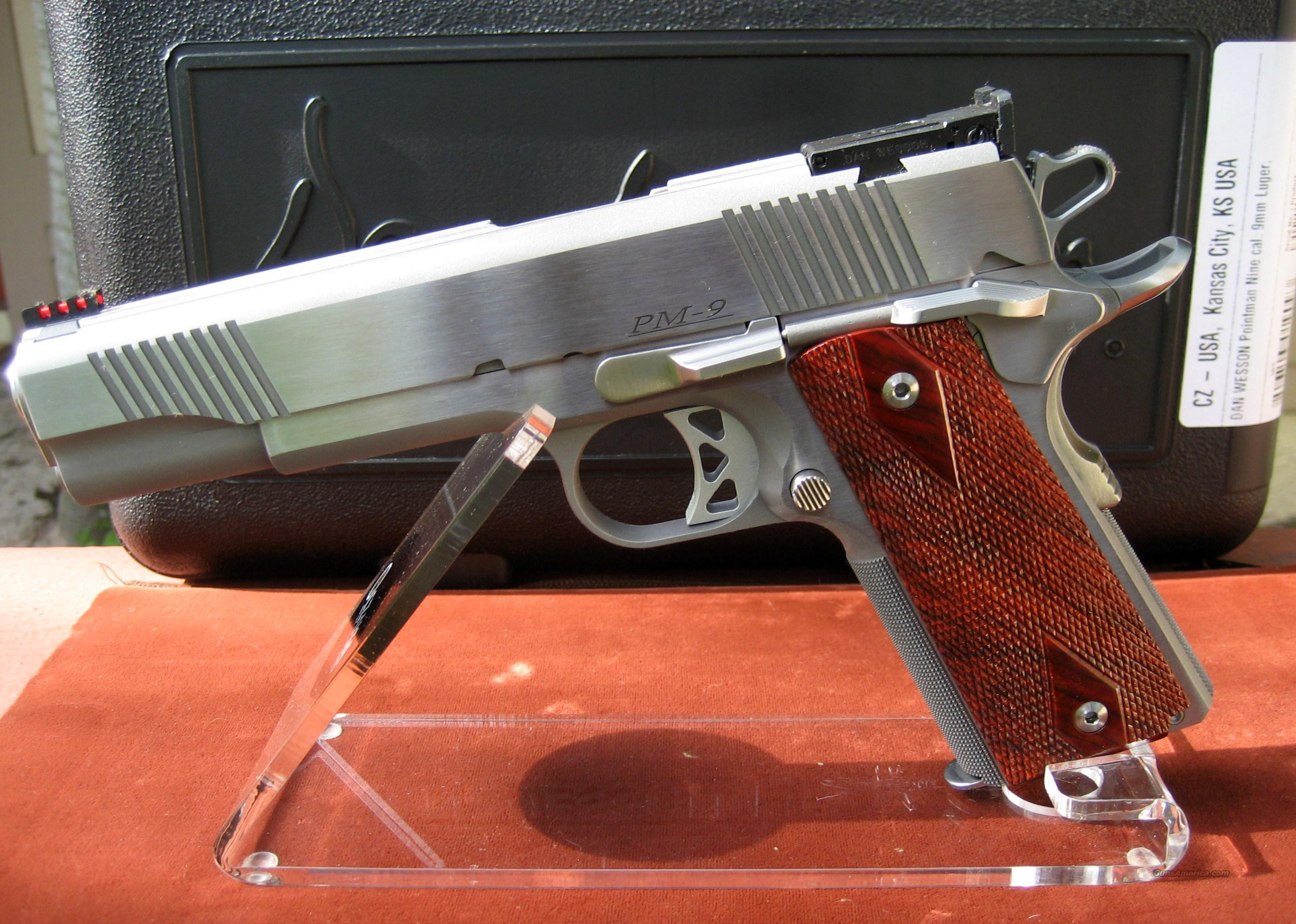DAN WESSON LIMITED PRODUCTION POINTMAN NINE IN 9MM   Guns > Pistols > Dan Wesson Pistols/Revolvers > 1911 Style