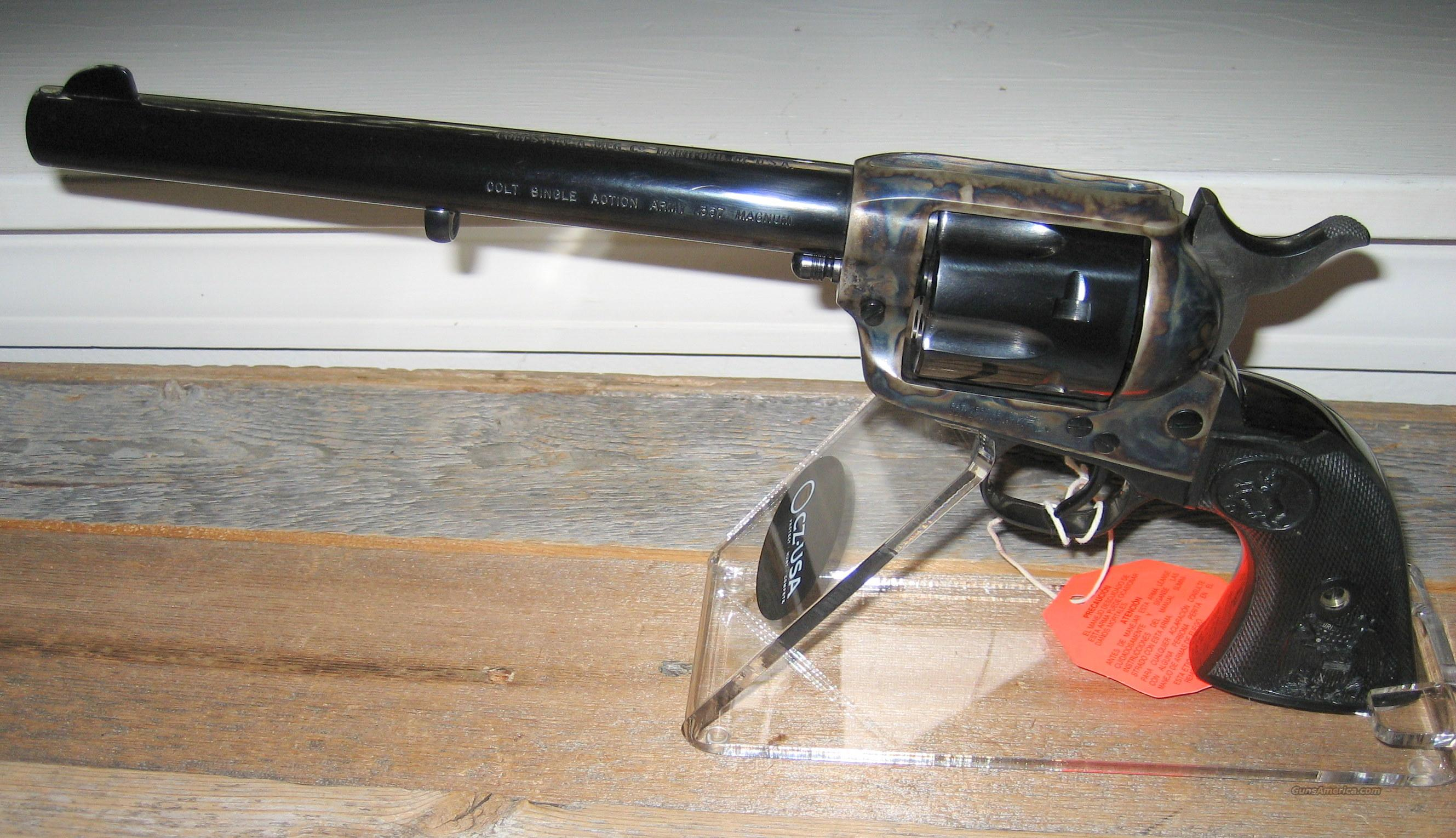 "COLT BLUE AND CC/B 7 1/2"" BARREL SAA IN 38 SPECIAL, 38/40, or 32/20  Guns > Pistols > Colt Single Action Revolvers - 3rd Gen."