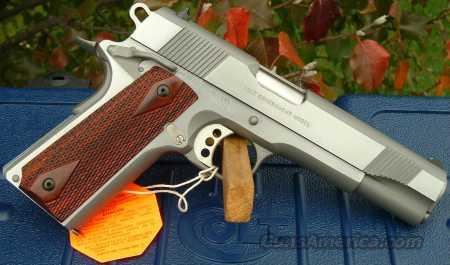 "COLT S/S XSE GOVERNMENT MODEL #O1070XSE ""100 YEARS OF SERVICE"" ROLLMARK  Guns > Pistols > Colt Automatic Pistols (1911 & Var)"
