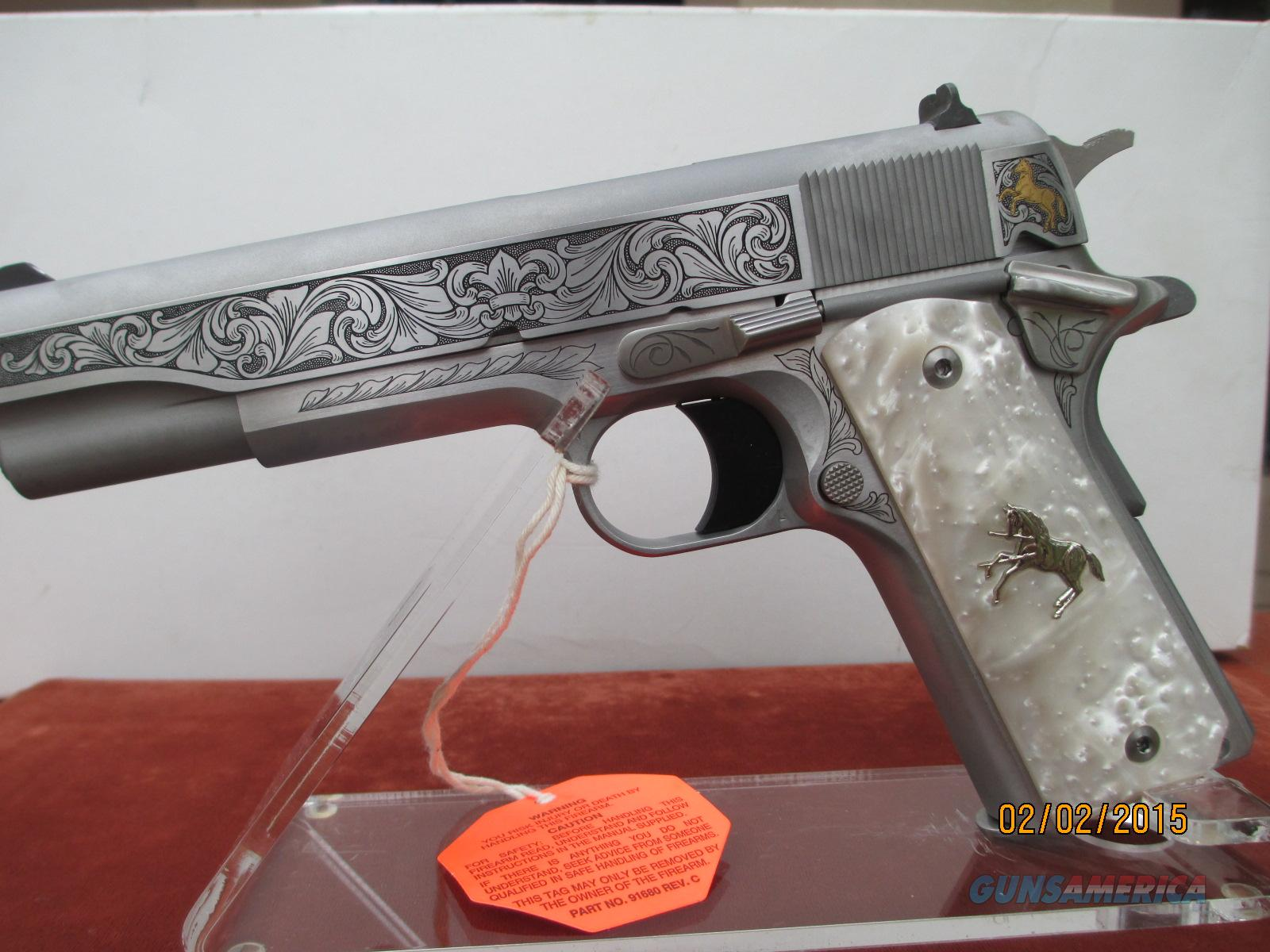 COLT/TALO LIMITED EDITION BRIAN POWLEY ONE OF 300 IN 38 SUPER  Guns > Pistols > Colt Automatic Pistols (1911 & Var)