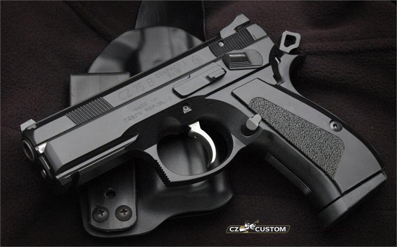 CZ 75B COMPACT L CUSTOM SHOP LIMITED EDITION   Guns > Pistols > CZ Pistols