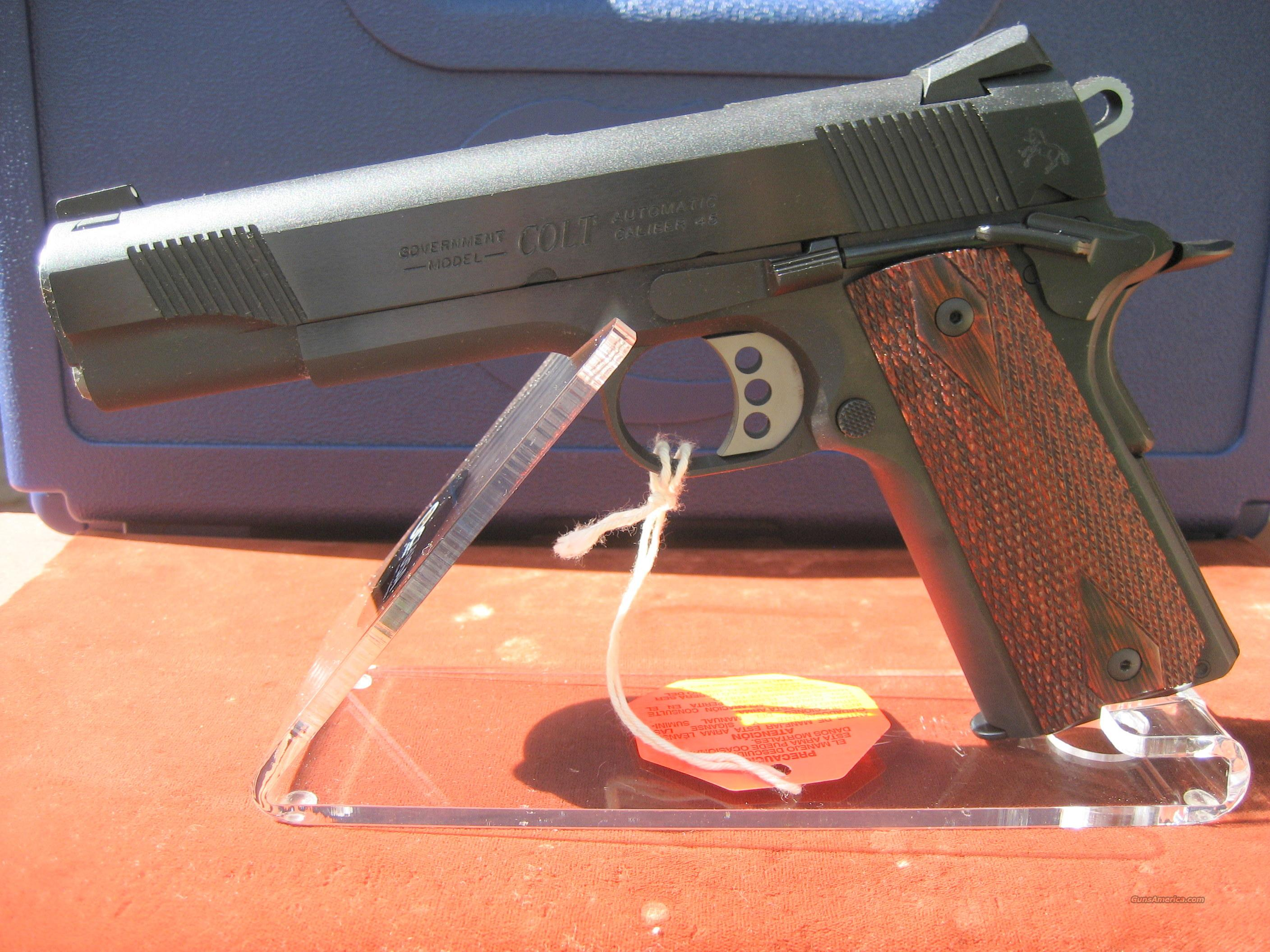 COLT BLUE O1980XSE 1911 GOVERNMENT MODEL  Guns > Pistols > Colt Automatic Pistols (1911 & Var)