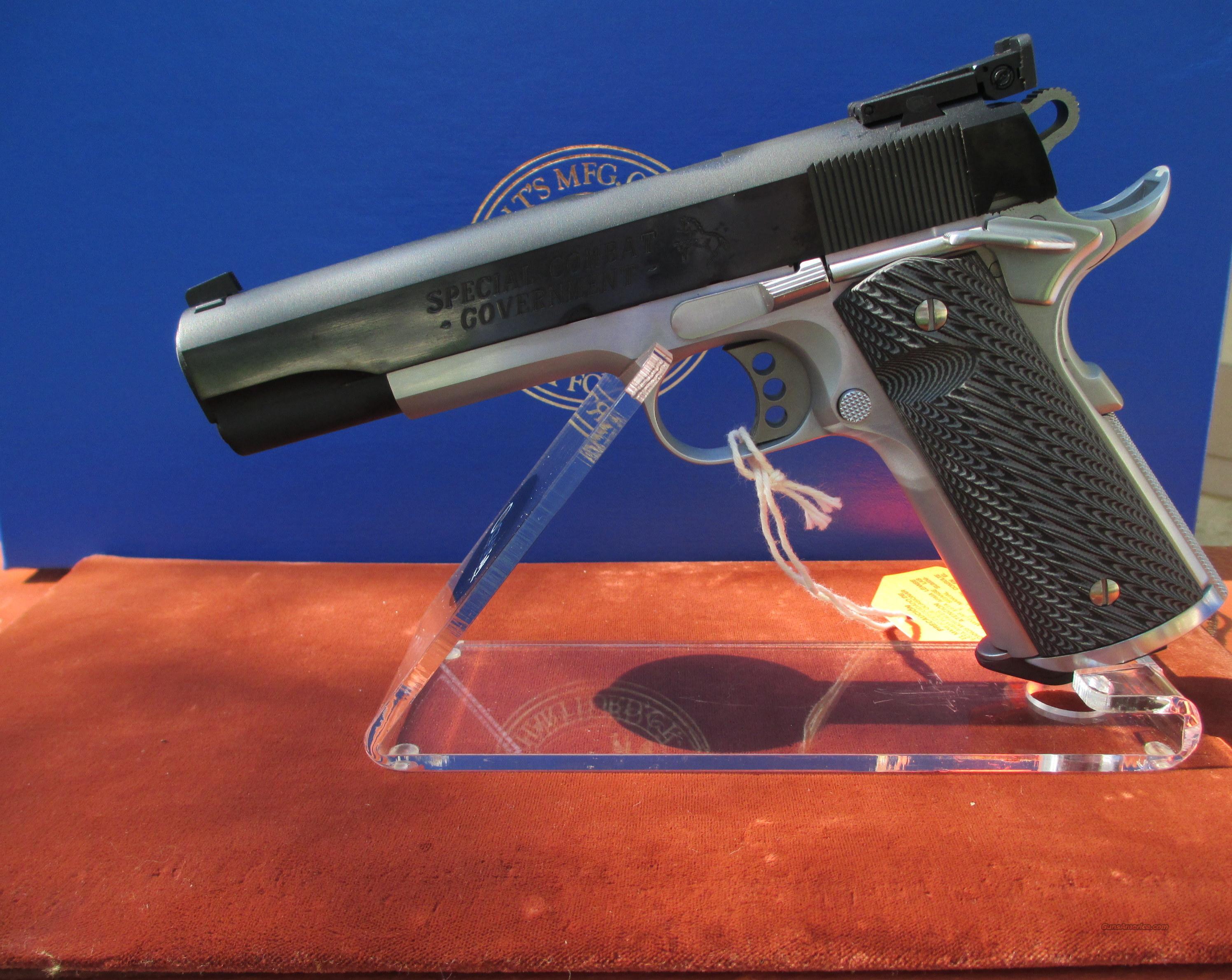 COLT SPECIAL COMBAT GOV'T COMPETITION MODEL O2580CM  Guns > Pistols > Colt Automatic Pistols (1911 & Var)