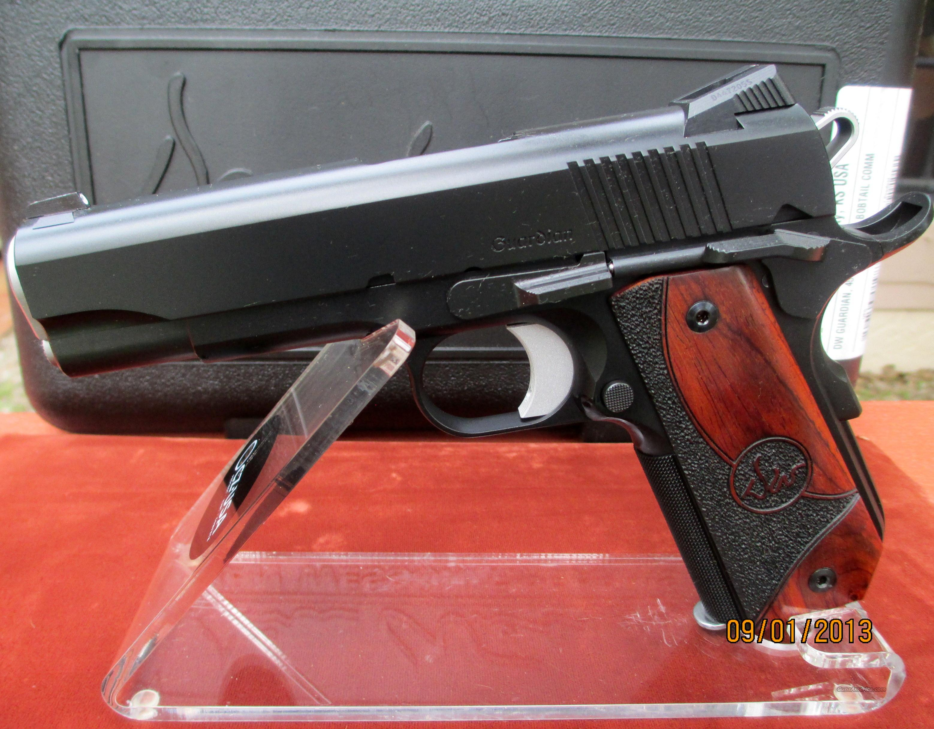 DAN WESSON GUARDIAN 45ACP REDUCED PRICE WITH FREE RANGEBAG  Guns > Pistols > Dan Wesson Pistols/Revolvers > 1911 Style