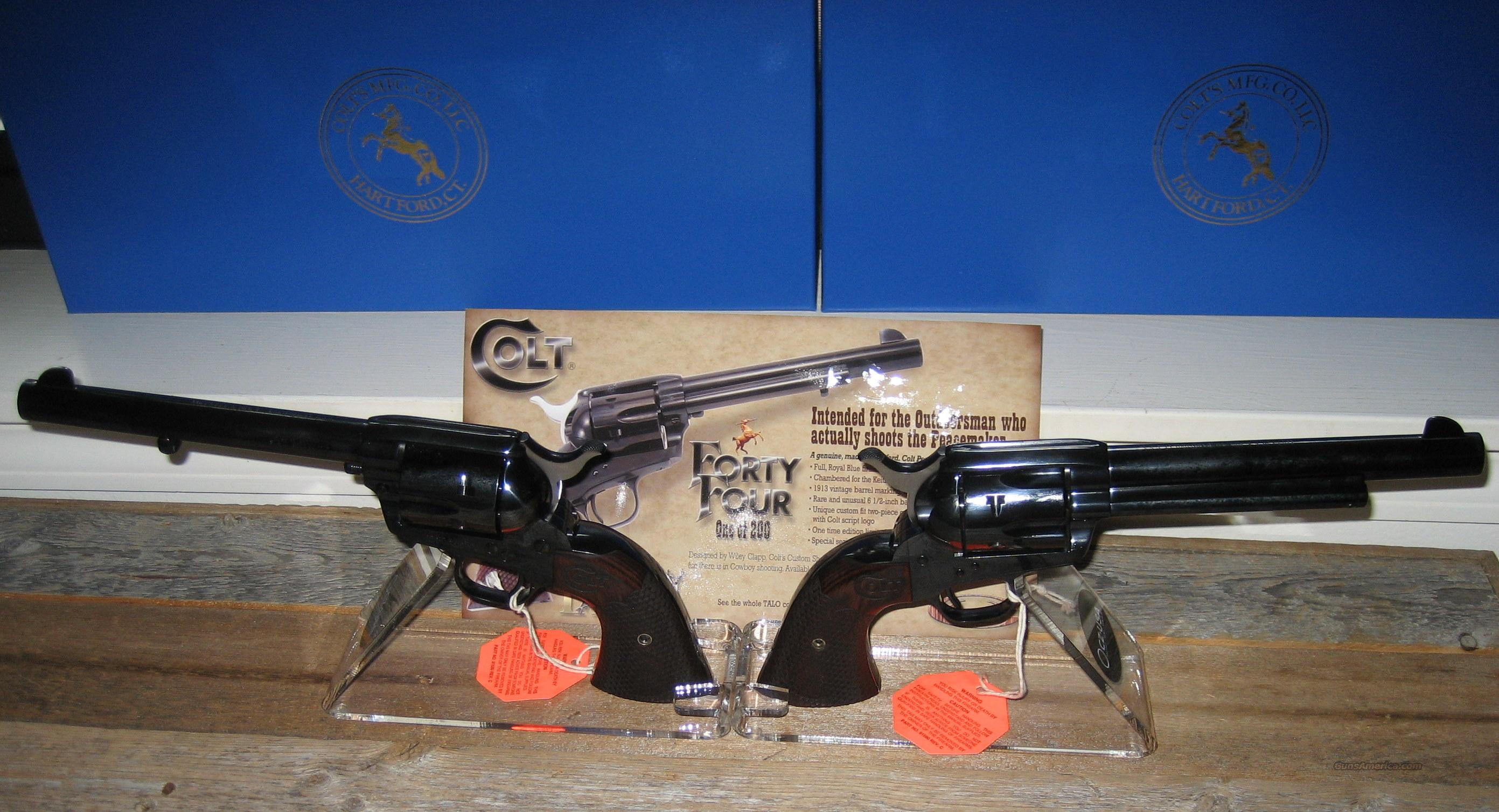 COLT/ TALO WILEY CLAPP SAA PEACEMAKER   Guns > Pistols > Colt Single Action Revolvers - 3rd Gen.