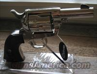 COLT NICKEL SHERIFF MODEL IN 45LC  Guns > Pistols > Colt Single Action Revolvers - 3rd Gen.