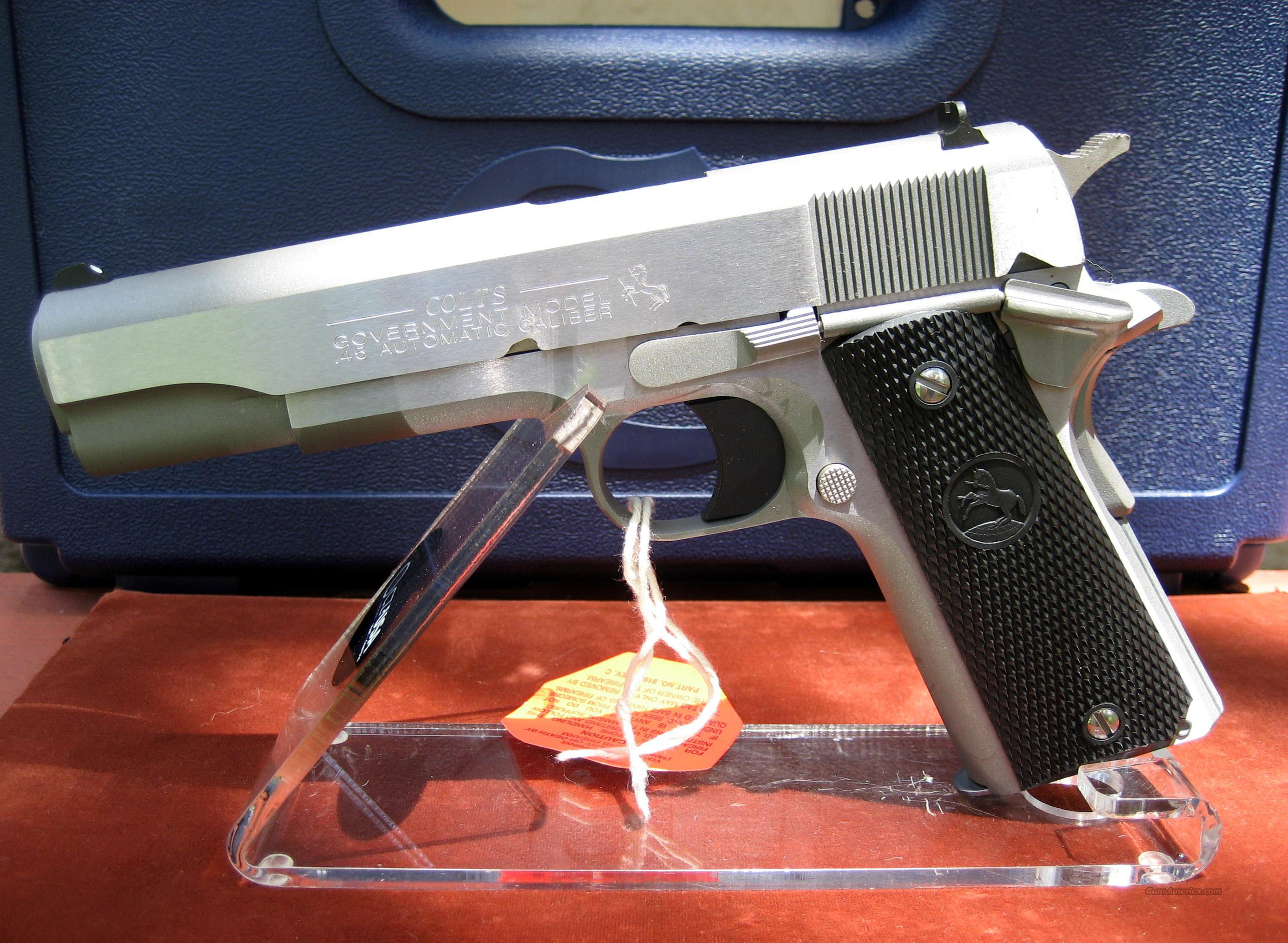 COLT STAINLESS STEEL O1991 SERIES MODEL #O1091  Guns > Pistols > Colt Automatic Pistols (1911 & Var)