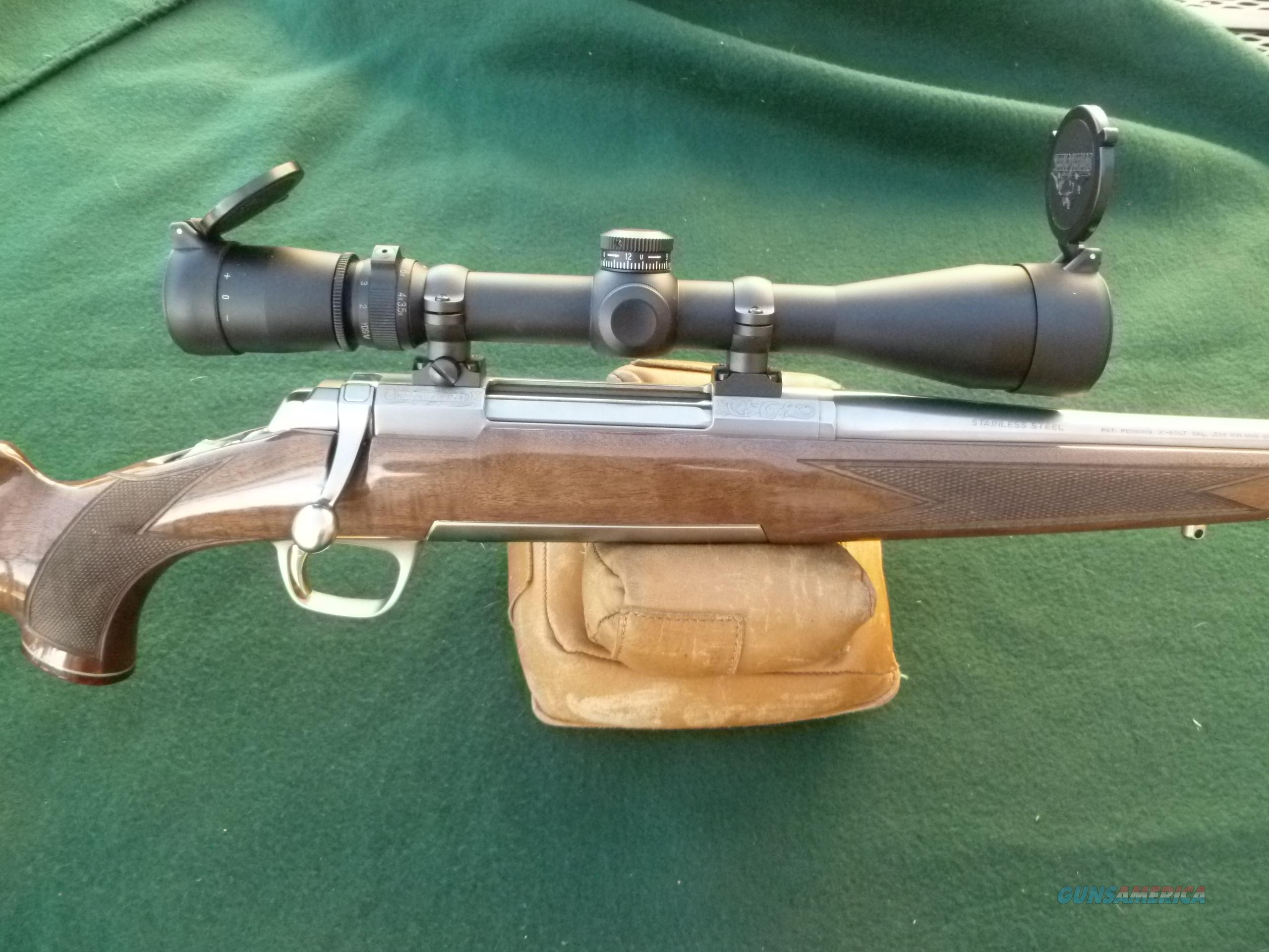 Browning X-Bolt White Gold Medallion, Leupold VX3, AS NEW  Guns > Rifles > Browning Rifles > Bolt Action > Hunting > Stainless