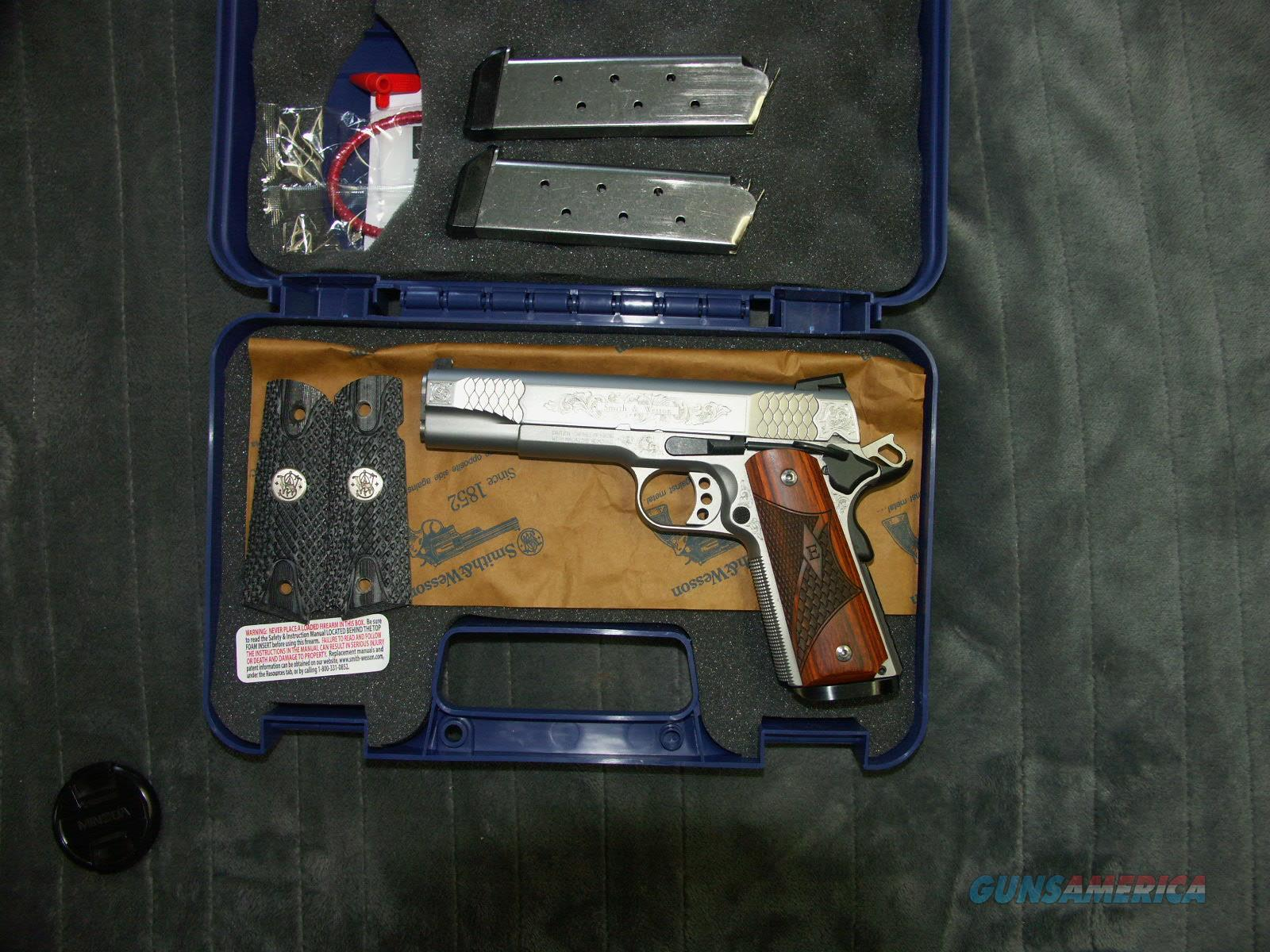 Smith and Wesson 1911 E Series Factory Engraved   Guns > Pistols > 1911 Pistol Copies (non-Colt)
