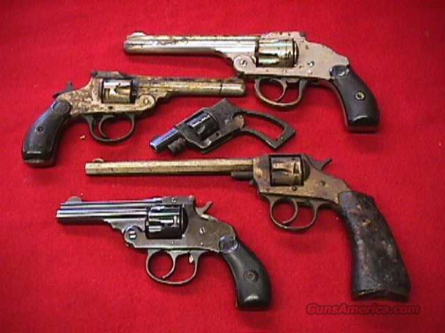 H&R Topbreak & other fixer upper package  Guns > Pistols > Harrington & Richardson Pistols
