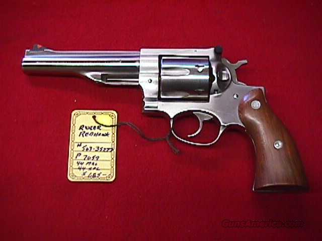 Ruger Redhawk stainless 44 magnum  Guns > Pistols > Ruger Double Action Revolver > Redhawk Type