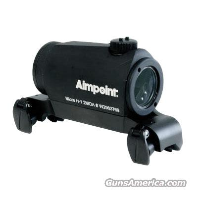 Aimpoint Micro H1 w/ Blaser Saddle Mount - 2 MOA 200090  Non-Guns > Scopes/Mounts/Rings & Optics > Tactical Scopes > Red Dot
