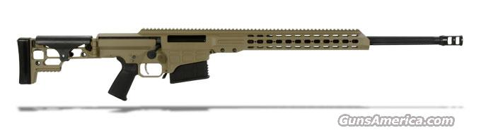 "Barrett MRAD 338 Lapua Rifle System - Tan Cerakote Receiver - 24"" Black Fluted Barrel 14374  Guns > Rifles > Barrett Rifles"