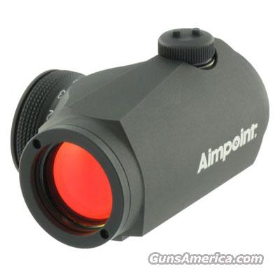 Aimpoint Micro H1 - 2 MOA  200018 Like New Demo  Non-Guns > Scopes/Mounts/Rings & Optics > Tactical Scopes > Red Dot