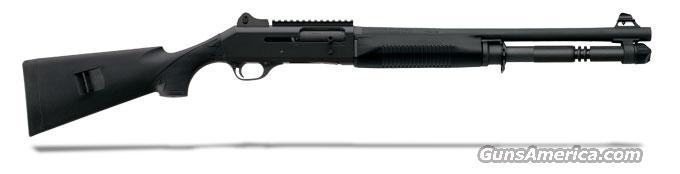 Benelli M4 Tactical Black synthetic, Tactical stock, Ghost-ring sight 18.5' MPN 11703  Guns > Shotguns > Benelli Shotguns > Tactical