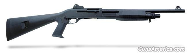 Benelli M3 Convertible Black synthetic, Pistol grip, Ghost-ring sight 19.75' MPN 11606  Guns > Shotguns > Benelli Shotguns > Tactical