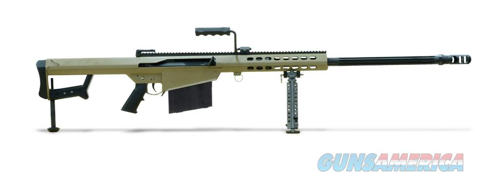 Barrett Model 82A1 .416 Tan Rifle   Guns > Rifles > Barrett Rifles