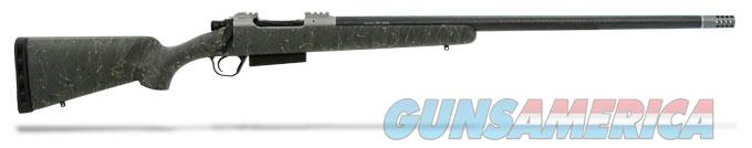Christensen Arms Carbon Classic -XL Mag Classic Bolt Action RH - 20 MOA Split Rail 26 Inch BBL - 338 Lapua -CIP mag- 1:9 twist-Brake - Green Stock with Black and Tan Webbing - Timney trigger  Guns > Rifles > Custom Rifles > Bolt Action