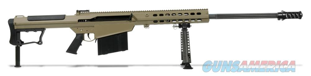 Barrett M107A1 50 BMG Tan Rifle 14559  Guns > Rifles > Barrett Rifles