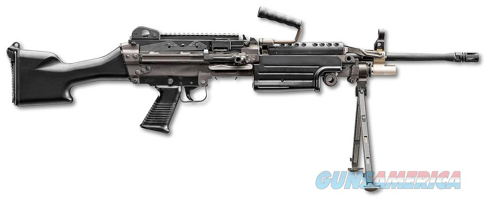 FN M249S Standard Black 5.56x45mm  Guns > Rifles > FNH - Fabrique Nationale (FN) Rifles > Semi-auto > Other