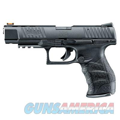 "Walther PPQ .22lr 5"" Black 12 round with Fiber Optic Front Sight  MPN 5100302  Guns > Pistols > Walther Pistols > Post WWII > P99/PPQ"