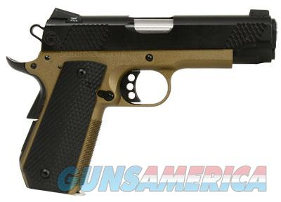 Christensen Arms Government Bob Tail 4in-Classic 45ACP Titanium Frame-Stainless Slide G10 grips-Burnt Bronze Frame Black Slide  Guns > Pistols > Custom Pistols > 1911 Family