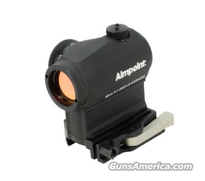 Aimpoint Micro H1 - 2 MOA with 39mm spacer and LRP base  200158  Non-Guns > Scopes/Mounts/Rings & Optics > Tactical Scopes > Red Dot