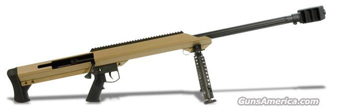 "Barrett M99 .50 BMG Rifle System: Tan Receiver 29"" Fluted Barrel 14032  Guns > Rifles > Barrett Rifles"