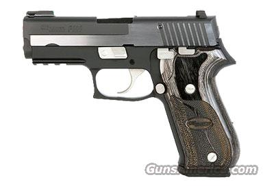 Sig Sauer P220 EQUINOX, 2-Tone Polished Nitron Finish, TRUGLO TFO Front, SLITE Rear Night Sights, Wood Grips  Guns > Pistols > Sig - Sauer/Sigarms Pistols > P220