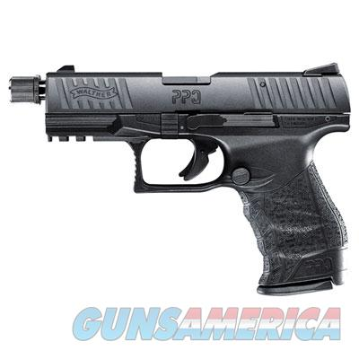 "Walther PPQ Tactical .22lr 4"" Black 10 round with Adapater  MPN 5100304  Guns > Pistols > Walther Pistols > Post WWII > P99/PPQ"