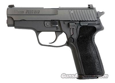 Sig Sauer P229 SAS, NON-RAIL, Black Nitron, Dehorning, SRT, SIGLITE Night Sights, 1-Piece Enhanced E2 Grip   Guns > Pistols > Sig - Sauer/Sigarms Pistols > P229