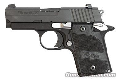 Sig Sauer P938 NIGHTMARE, Black Nitron Finish, SLITE Night Sights, Hogue Black G10 Grips, Ambi Safety, 7rd Magazine  Guns > Pistols > Sig - Sauer/Sigarms Pistols > Other