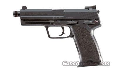 HK USP-Tactical V1 DA/SA with safety 40 S&W black with 2x 10 round magazines 207787  Guns > Pistols > Heckler & Koch Pistols > Polymer Frame