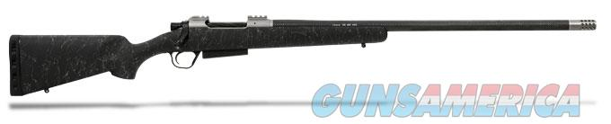 Christensen Arms Carbon Classic -XL Mag Classic Bolt Action RH - 20 MOA Split Rail 26 Inch BBL - 338 Lapua -CIP mag- 1:9 twist- Brake - Black Stock with Grey Webbing - Timney trigger FREE SHIPPING  Guns > Rifles > Custom Rifles > Bolt Action