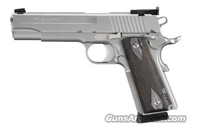 Sig Sauer 1911-FULL-SIZE STAINLESS TARGET 1911-45-S-TGT  Guns > Pistols > Sig - Sauer/Sigarms Pistols > 1911