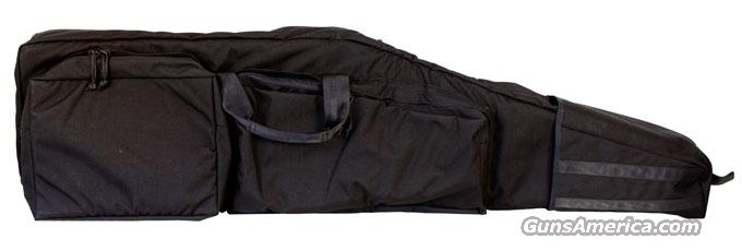 Accuracy International SOFT CARRY DRAG BAG - AW50 / AX50 Black 4616  Non-Guns > Gun Cases
