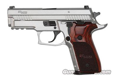 Sig Sauer P229 STAINLESS ELITE, All Stainless, Beavertail, SRT, SLITE Night Sights, Wood Grips  Guns > Pistols > Sig - Sauer/Sigarms Pistols > P229