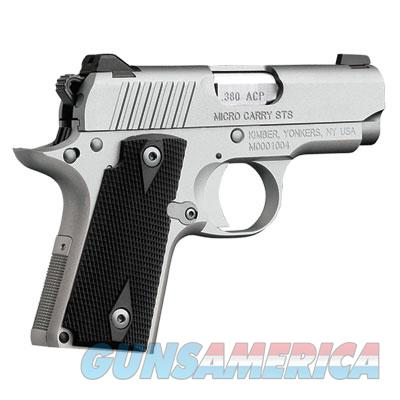 Kimber 1911 Micro Carry - Stainless .380 ACP 3300083  Guns > Pistols > Kimber of Oregon Pistols