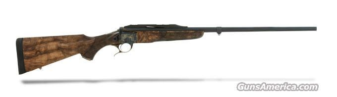 Luxus Arms Model 11 Single Shot  - Case Color - 270 Winchester- Deep relief engraving pattern 2 - Stock 13  Guns > Rifles > L Misc Rifles