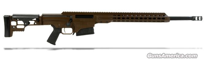 "Barrett MRAD 308 Win Rifle System - Multi-Role Brown Receiver - 22"" Black Fluted Barrel 14338  Guns > Rifles > Barrett Rifles"
