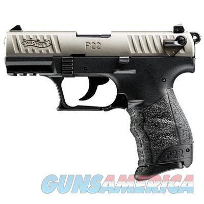 Walther P22 .22lr CA Nickel 10 round MPN 5120336  Guns > Pistols > Walther Pistols > Post WWII > P22