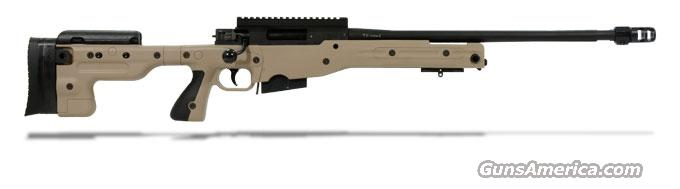 Accuracy International AT Rifle - Fixed Pale Brown Stock - 308 Win 24 inch threaded bbl std brake - R10820-CR  Guns > Rifles > Accuracy International Rifles