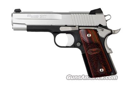 Sig Sauer 1911-COMPACT-alloy C3 1911CO-45-T-C3  Guns > Pistols > Sig - Sauer/Sigarms Pistols > 1911