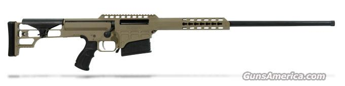 Barrett 98B Fieldcraft .300 Win Mag Rifle System - 24' Light Barrel - FDE Cerakoted Receiver 14837  Guns > Rifles > Barrett Rifles